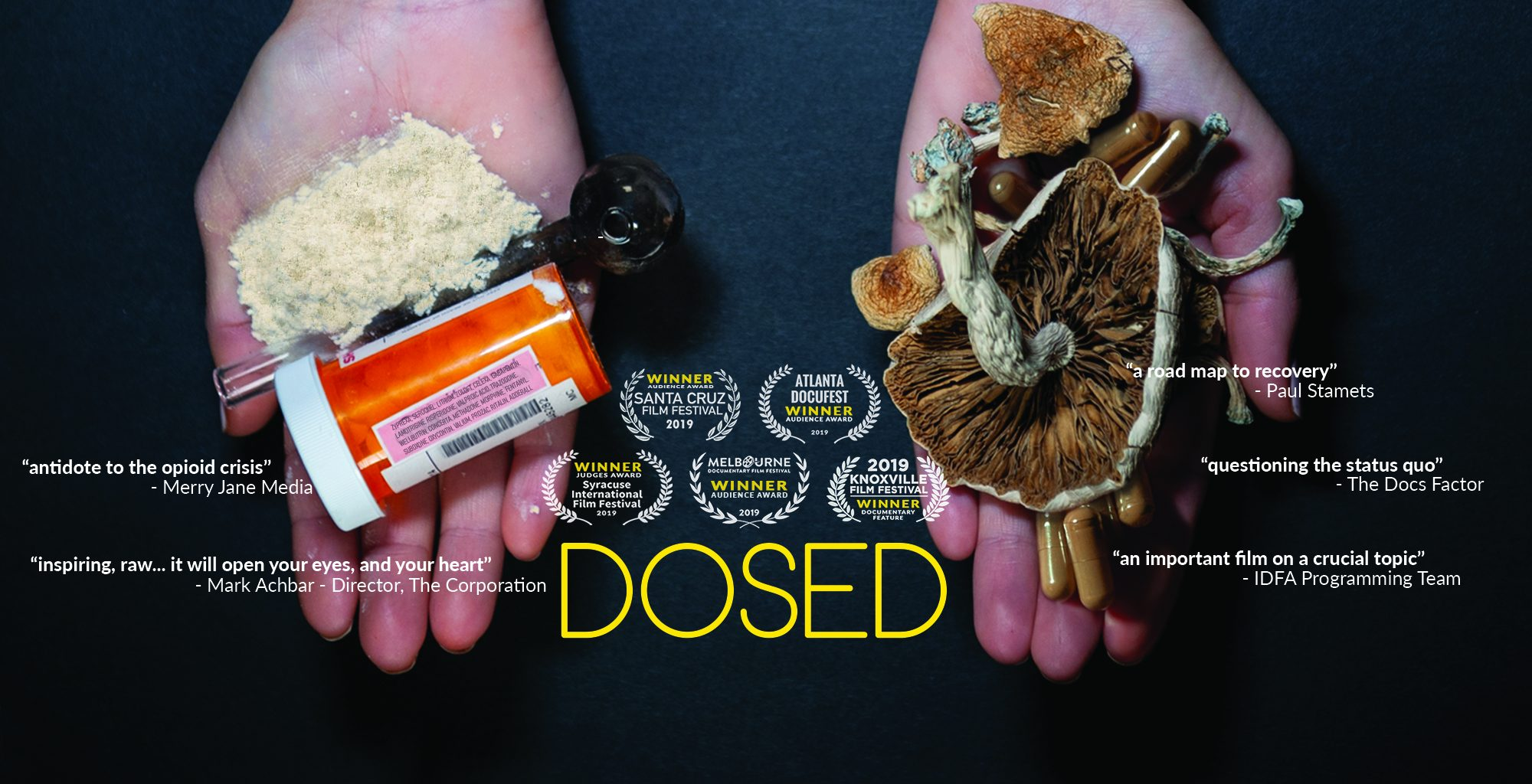 DOSED cover photo website